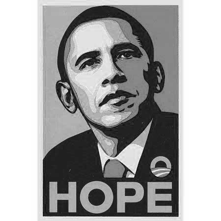 Klöppeln für Obama
