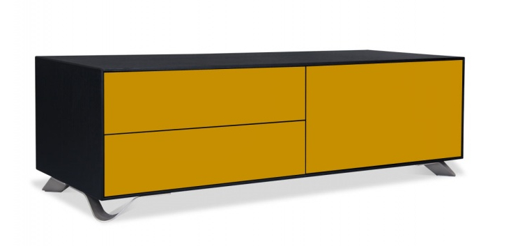 Tobias jacobsen sideboard gelb schwarz hollightly for Sideboard gelb