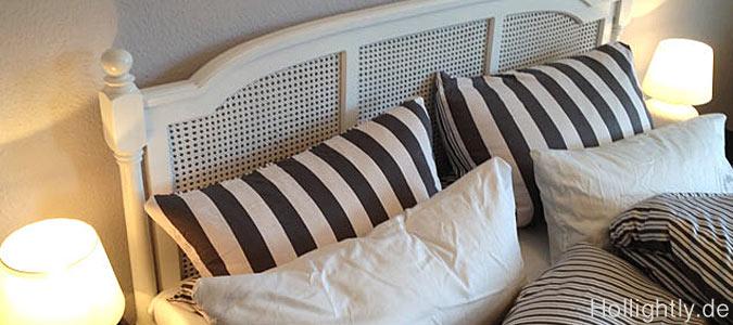 graue eminenz im schlafzimmer stylisches bett. Black Bedroom Furniture Sets. Home Design Ideas