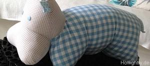 Nilpferd Kissen Taufgeschenk