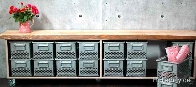 Der Geruch von Holz, Leder, Schweiß und Tränen - Möbel aus Turngeräten