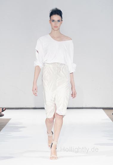 Malaika Raiss white dress