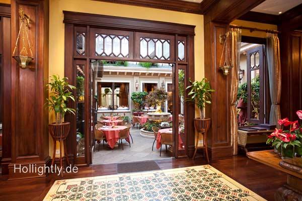 Eingangsbereich Grano de Oro