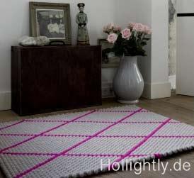 stylischer hay teppich