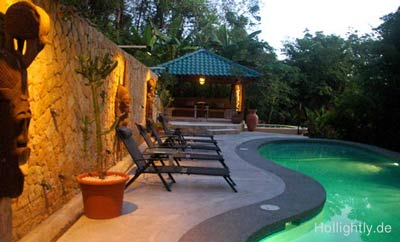 Pool der Moana Lodge