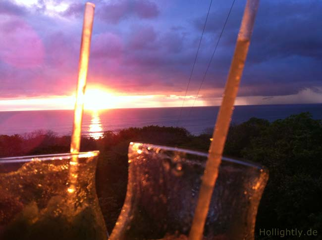 Mal Pais Sonnenuntergang