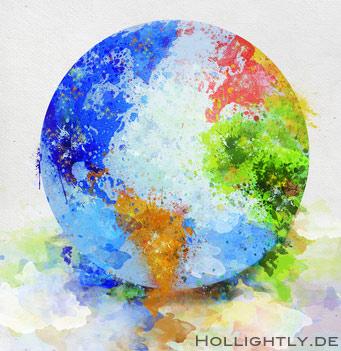 Die bunte Erde