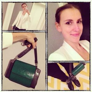 Selfie mit Knospeco Tasche