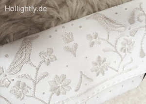Lovebirds auf der Clutch - Wedding