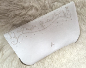 Lovebird Clutch hintere Seite - Wedding