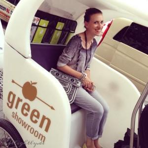 Eco-Shuttle: Die Fahrrad-Rikscha