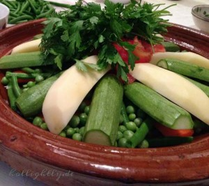 Rezept für vegetarische Tajine