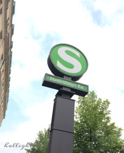 S Bahn in Berlin