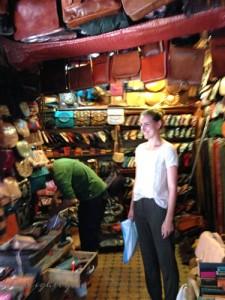 Petra in den Souks von Marrakesch