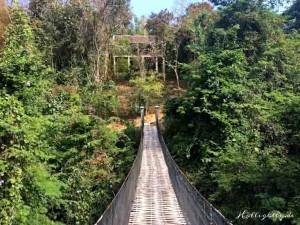 Zen Namkhan Laos - Hängebrücke