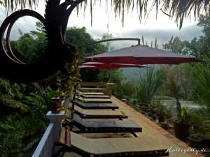 Zen Namkhan Laos - Pool Liegestühle