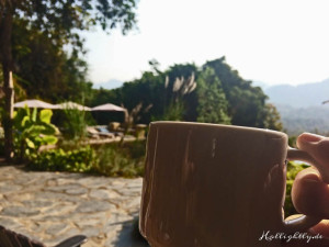 Zen Namkhan Laos - Frühstückskaffee