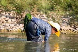 Zen Namkhan Laos - Ausflug in ein kleines Dorf