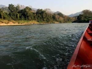 Zen Namkhan Laos - Fahrt zum Dorf