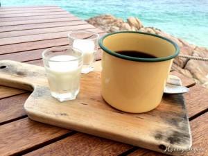 Stilistisch passender Cast Away Kaffee