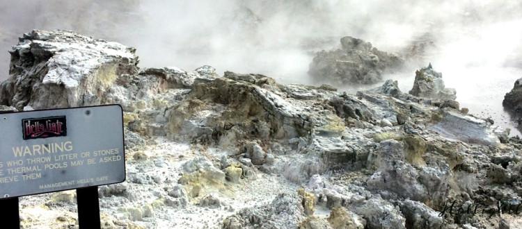 Hells Gate Neuseeland