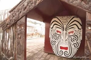 Hells Gate Neuseeland Maske