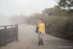 Hells Gate Neuseeland Schwefelluft