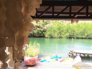 Chill-Bereich im Bann Makok