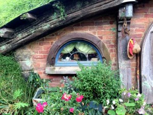 Fenster in Hobbiton
