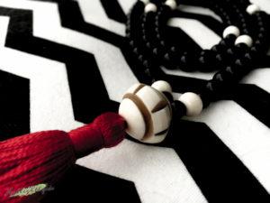 Mala Gebetskette Onyx